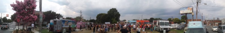 Food Truck Friday Panorama