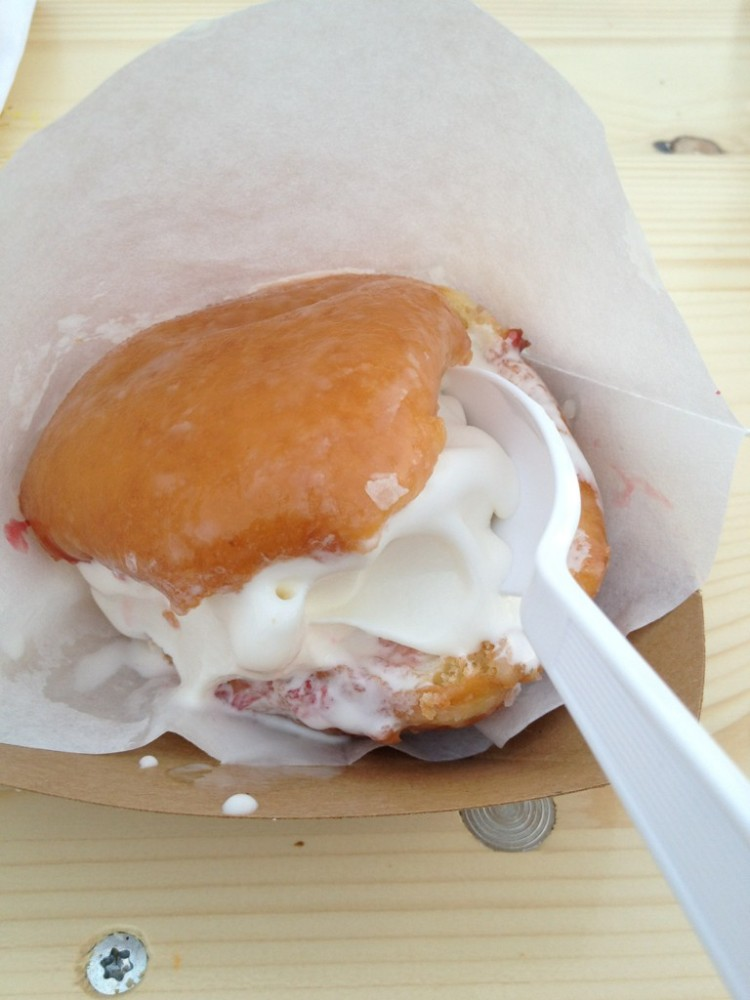 Krispie Cream filled Donut