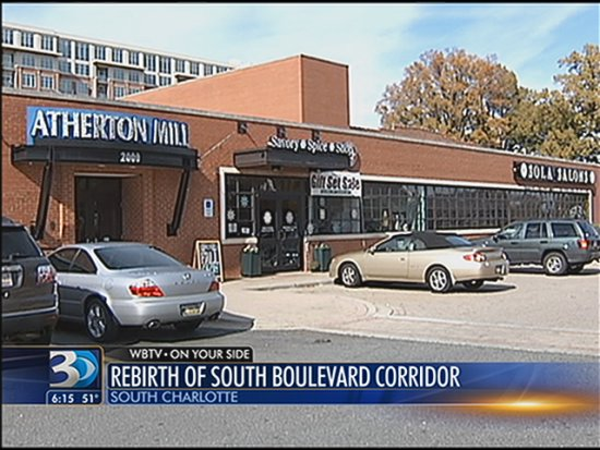 WBTV News Story on South End's Growth - Historic South End