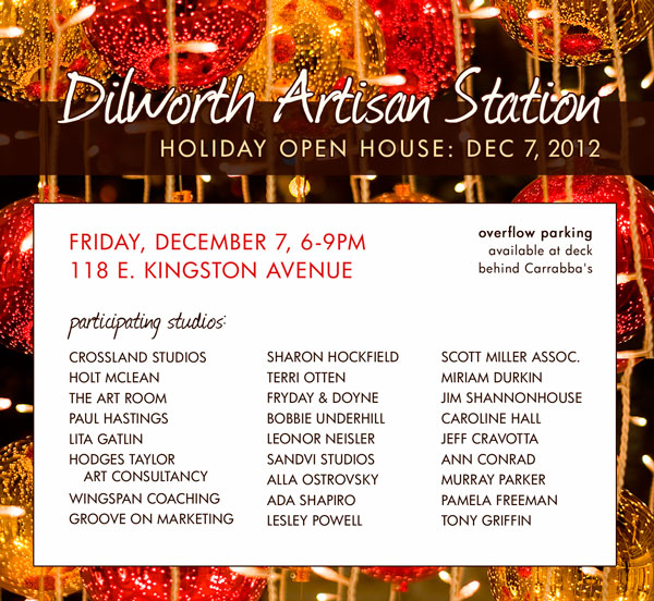Dilworth Artisan Station Open House