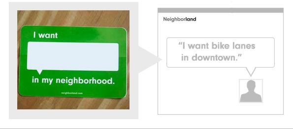 Neighborland Sticker