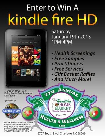 Healthy Home Health & Wellness Fair