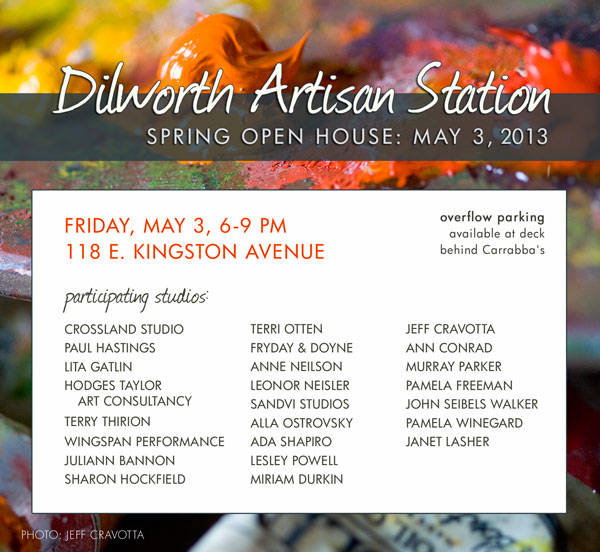 Dilworth Artisan Station May Open House