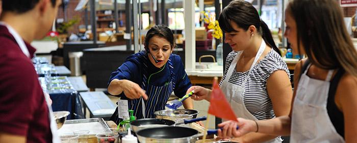 Chef Alyssa Kitchen Action
