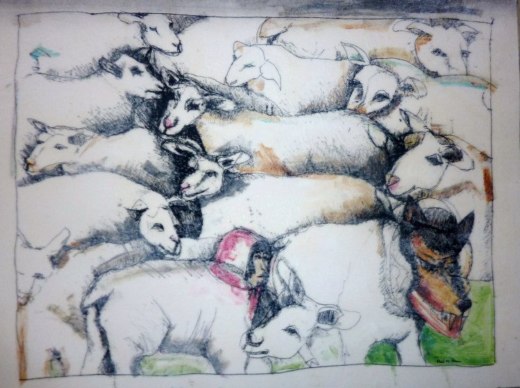In_Sheep_s_Clothing__30x40__painting__on_canvas____gallery_roll__DavidBenson